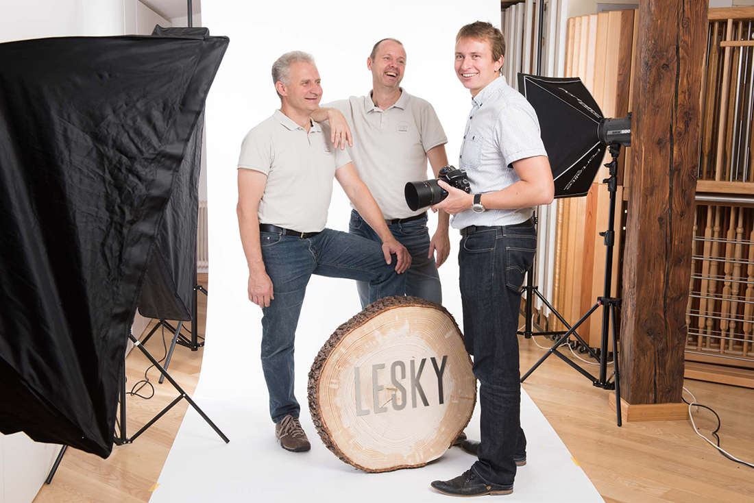 Lesky Fotoshooting mit Ulf Thausing.