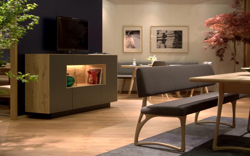 Esszimmer von lesky sind modern und individuell for Esszimmer anrichte